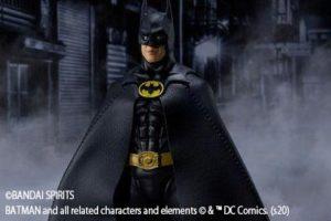 S.H.フィギュアーツ新作!マイケル・キートン版バットマンが2020年9月発売!