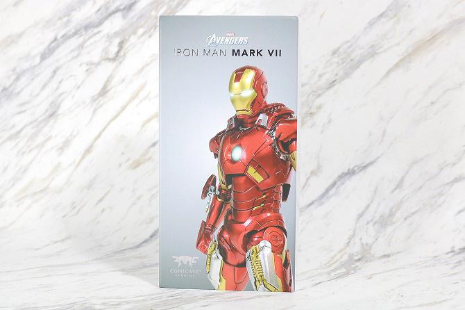 Comicave Studios コミケイブスタジオ アイアンマン マーク7 レビュー パッケージ