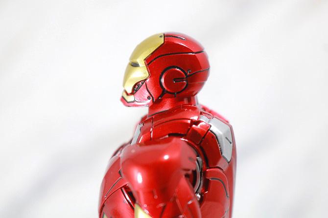 Comicave Studios コミケイブスタジオ アイアンマン マーク7 レビュー 可動範囲