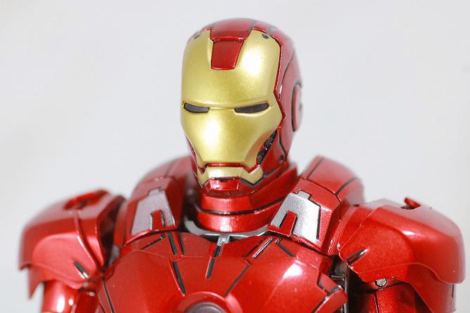 Comicave Studios コミケイブスタジオ アイアンマン マーク7 レビュー 全身