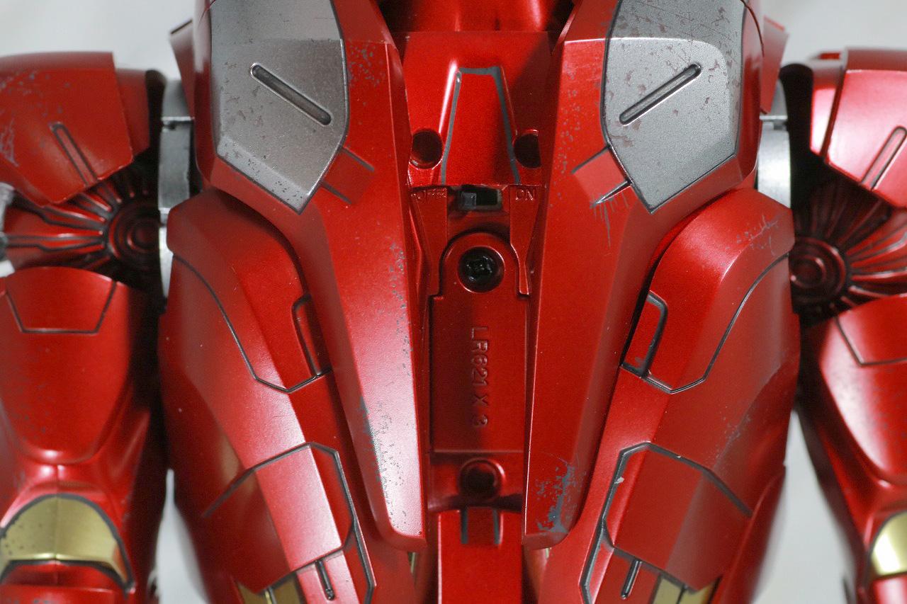 ホットトイズ ムービー・マスターピース DIECAST アイアンマン マーク7 レビュー ライトアップ