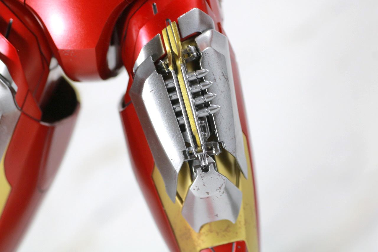 ホットトイズ ムービー・マスターピース DIECAST アイアンマン マーク7 レビュー 付属品 太もも ミサイルポッド