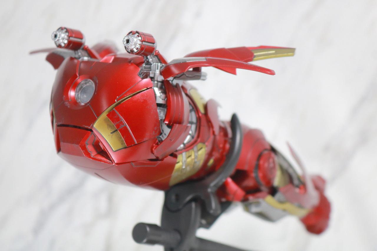 ホットトイズ ムービー・マスターピース DIECAST アイアンマン マーク7 レビュー スーツポッド 換装ギミック