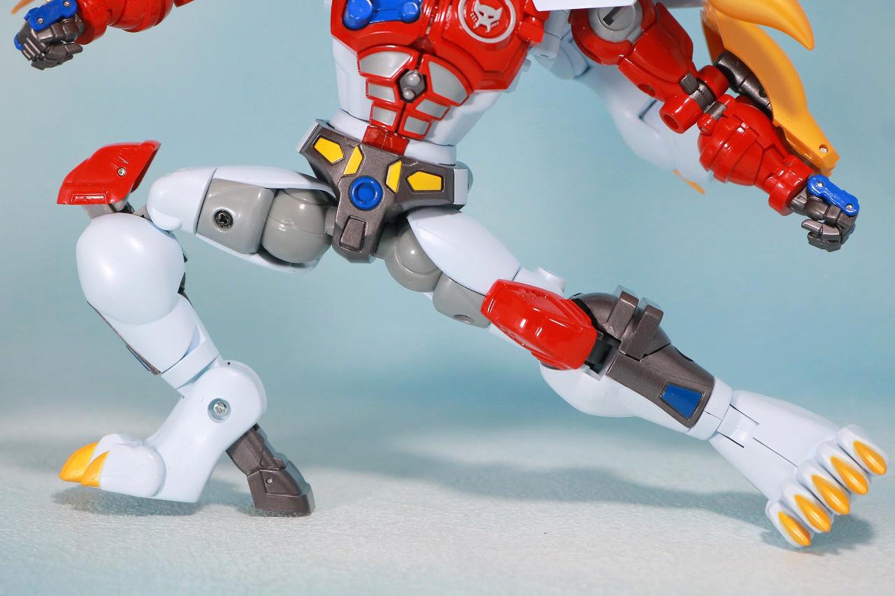 マスターピース MP-48 ライオコンボイ レビュー ロボットモード 可動範囲