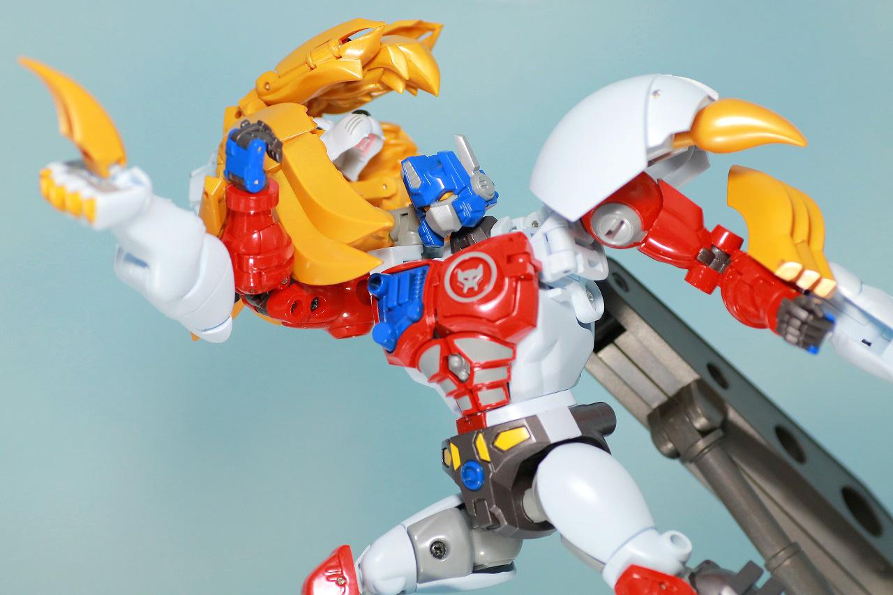 マスターピース MP-48 ライオコンボイ レビュー アクション ロボットモード