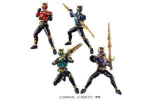 SO-DO新作!仮面ライダークウガ 金色の力が2020年10月限定発売!ライジングになった4体がセットに!