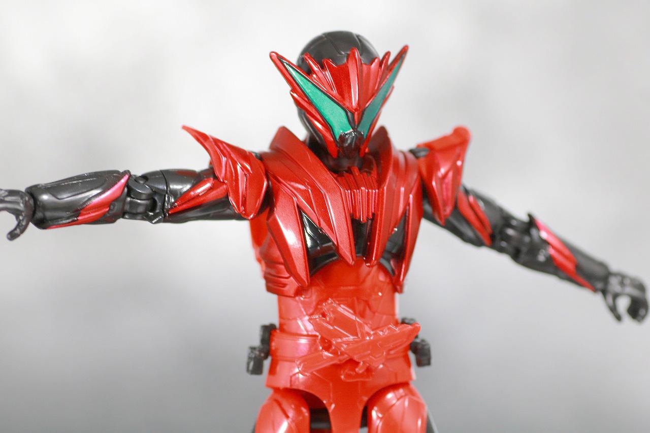 RKF RIDER KICK'S FIGURE 仮面ライダー迅 バーニングファルコン レビュー 可動範囲