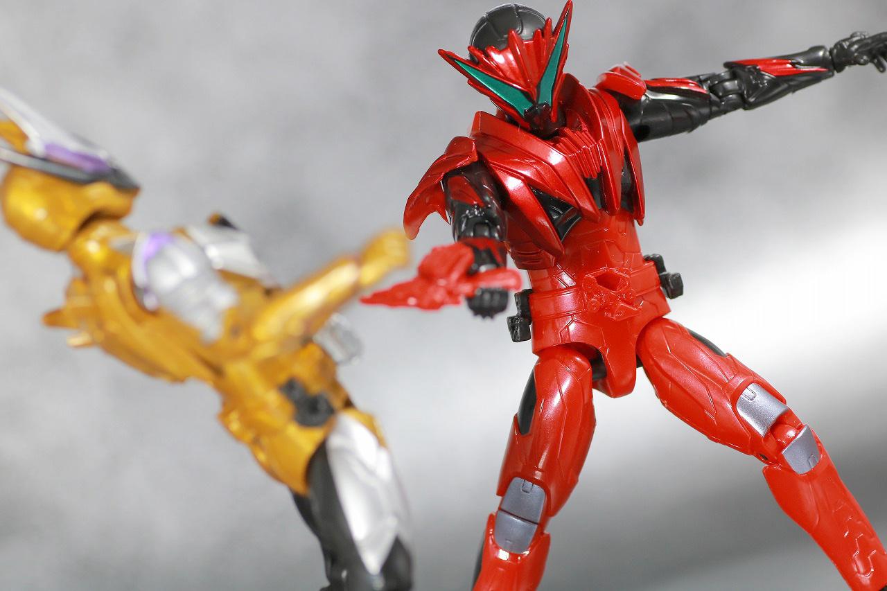 RKF RIDER KICK'S FIGURE 仮面ライダー迅 バーニングファルコン レビュー アクション 仮面ライダーサウザー