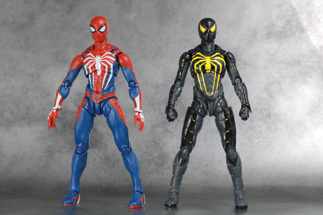 S.H.フィギュアーツ スパイダーマン アンチオック・スーツ レビュー 全身 アドバンススーツ 比較