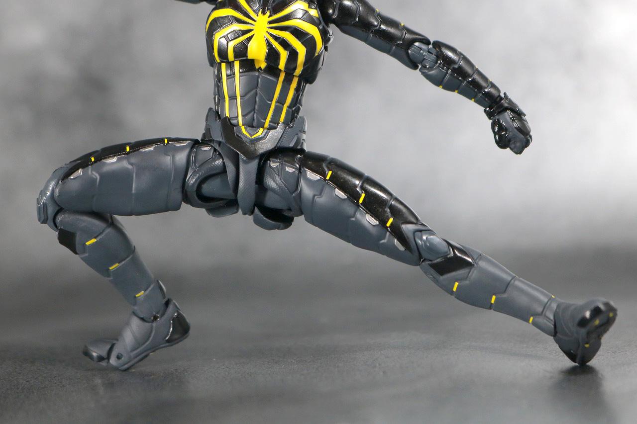 S.H.フィギュアーツ スパイダーマン アンチオック・スーツ レビュー 可動範囲