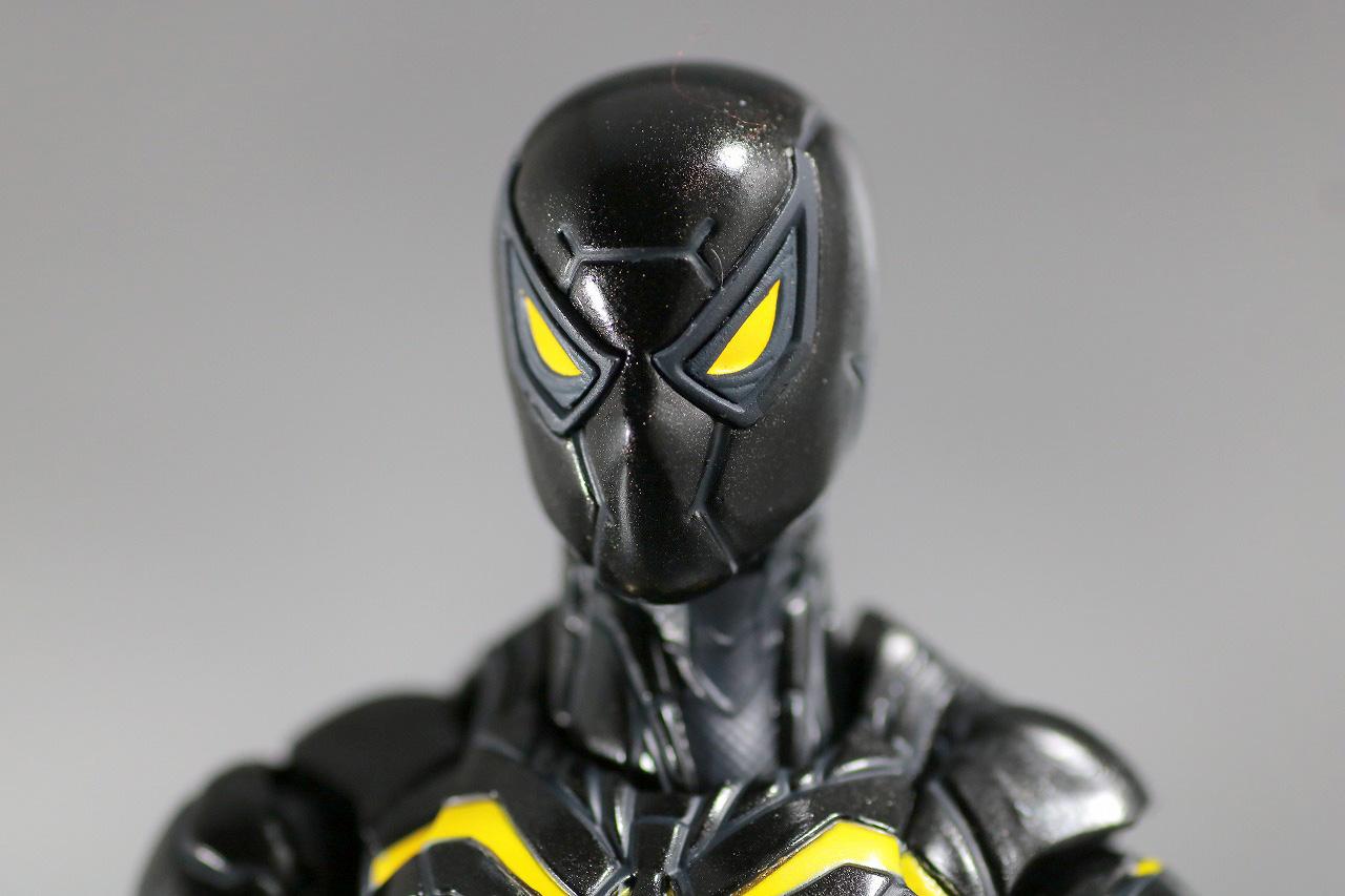 S.H.フィギュアーツ スパイダーマン アンチオック・スーツ レビュー 付属品 差し替え頭部