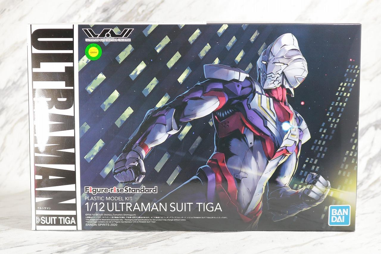 Figure-rise Standard ULTRAMAN SUIT TIGA ウルトラマンティガ レビュー パッケージ