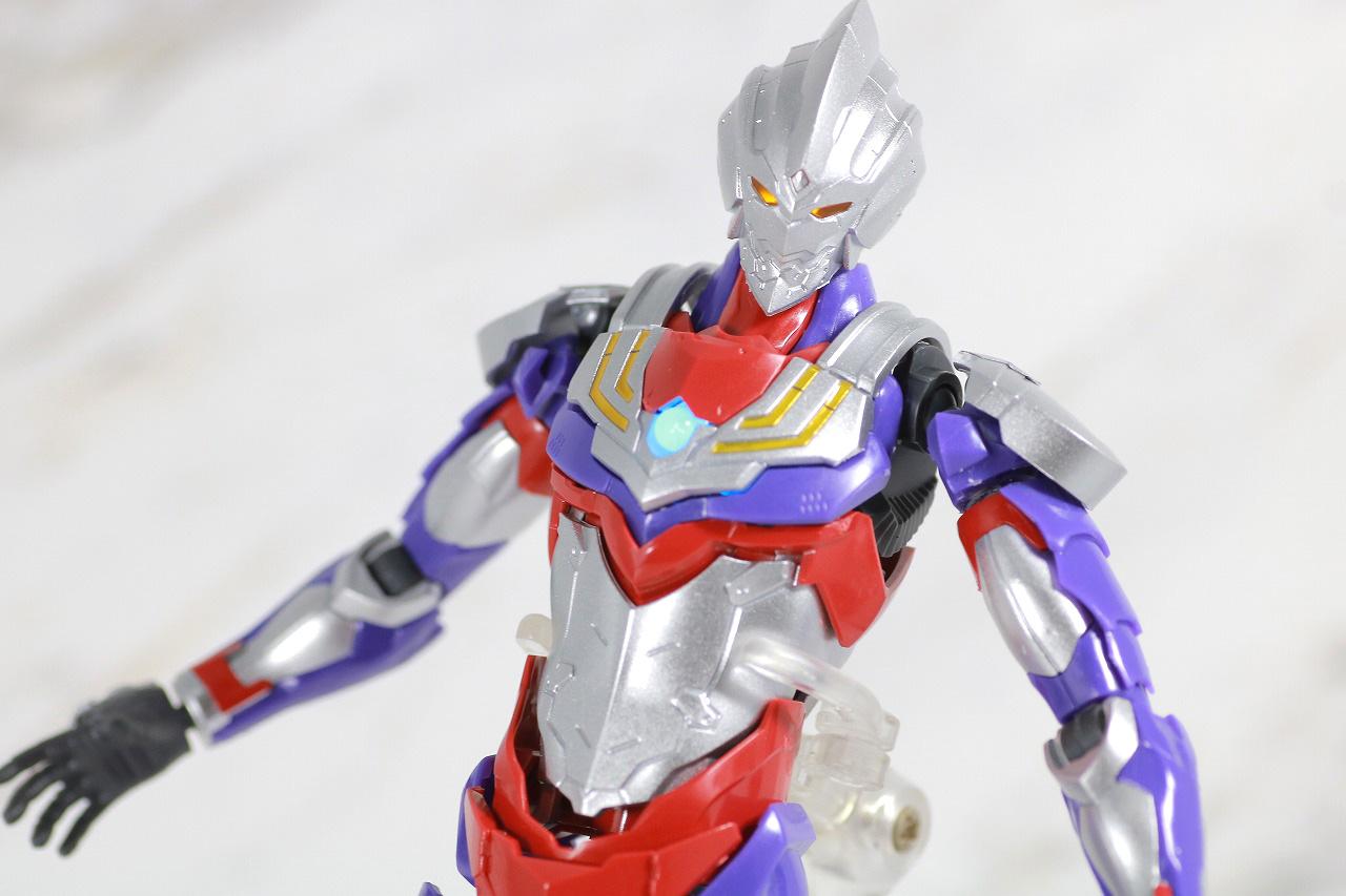 Figure-rise Standard ULTRAMAN SUIT TIGA ウルトラマンティガ レビュー アクション