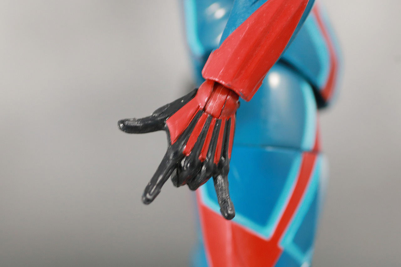 マーベルレジェンド スパイダーマン ベロシティスーツ レビュー 全身