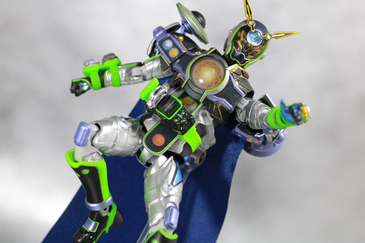 S.H.フィギュアーツ 仮面ライダーウォズギンガ ファイナリー 宇宙最強セット レビュー アクション