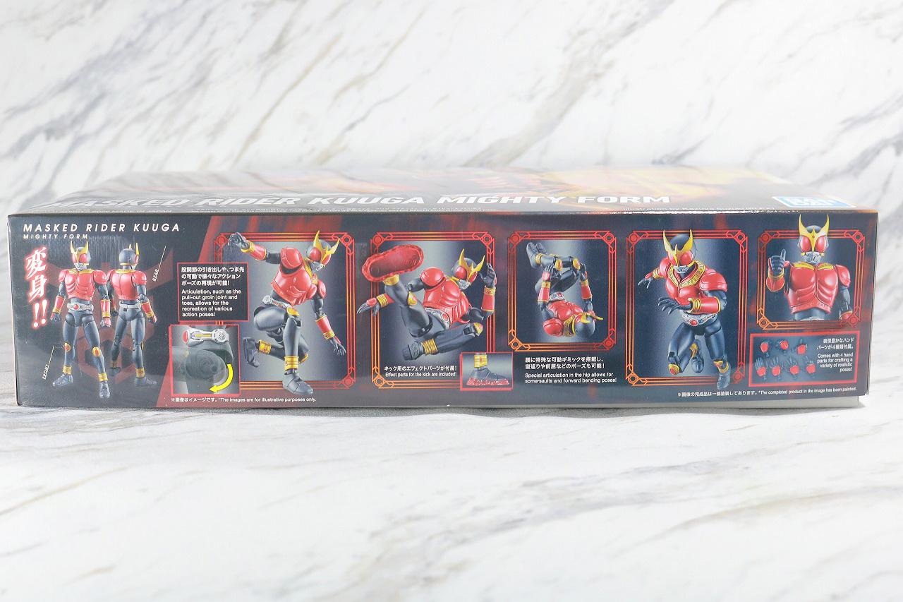 Figure-rise Standard 仮面ライダークウガ マイティフォーム レビュー パッケージ