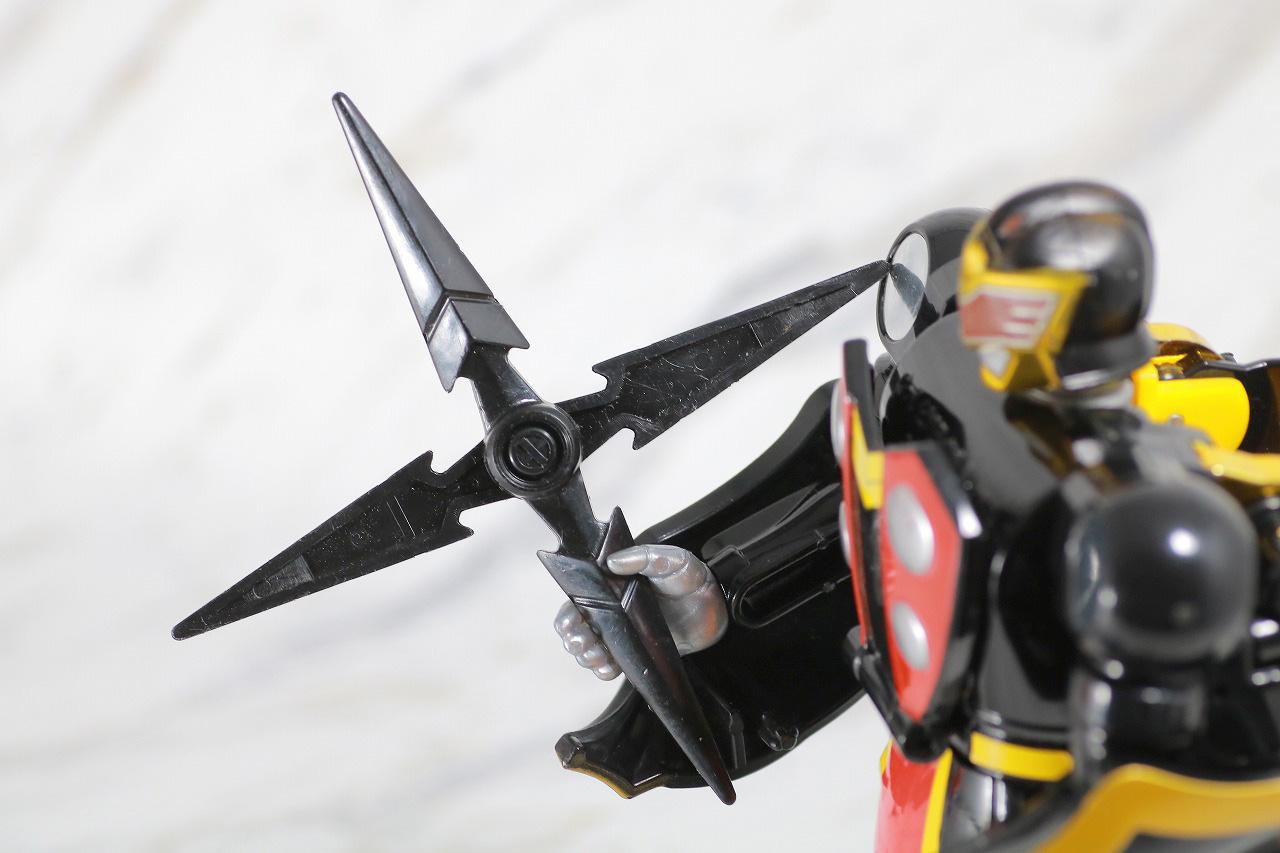ジシャックチェンジシリーズ ダークロー レビュー 付属品 カラスライサー