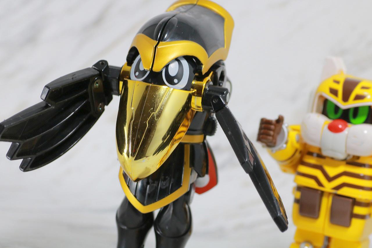ジシャックチェンジシリーズ ダークロー レビュー アクション ノーマルモード トラボルト