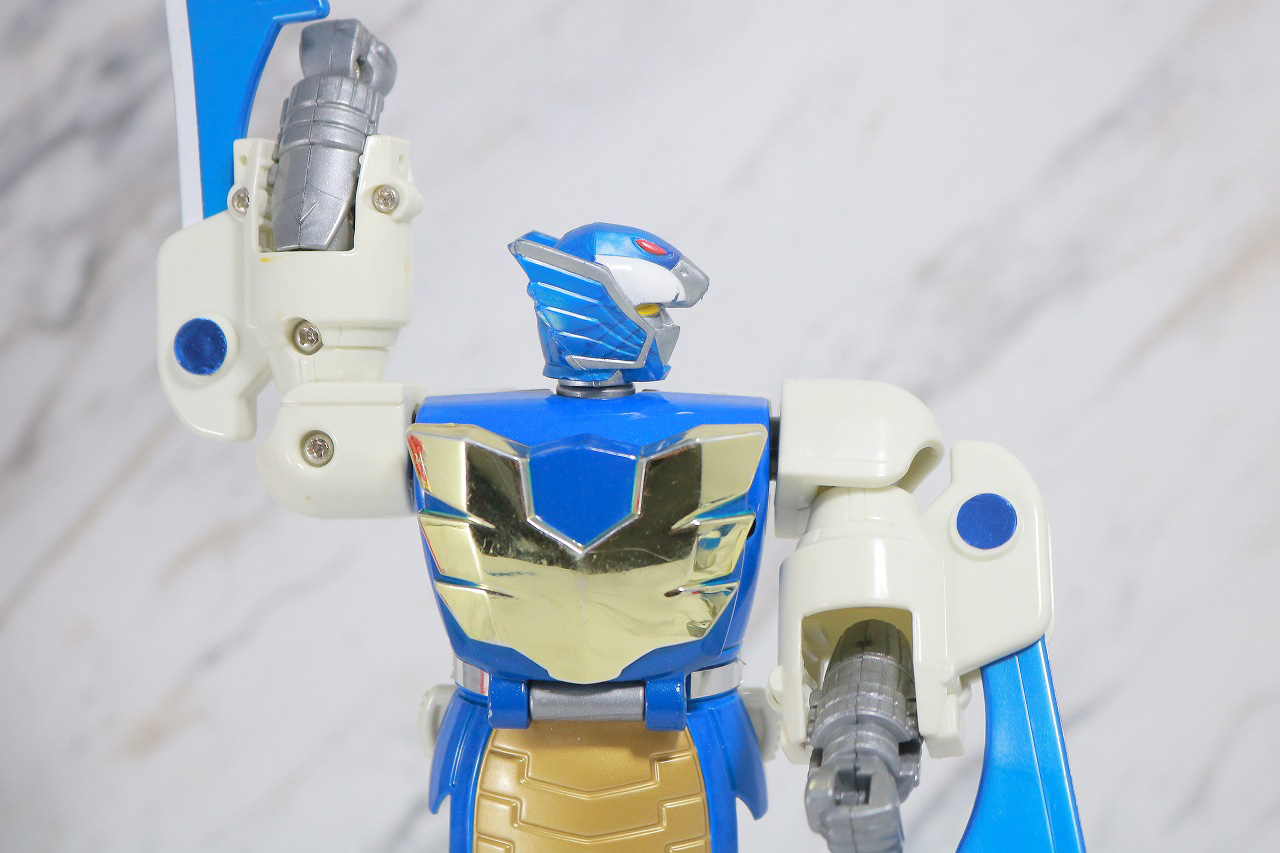 ジシャックチェンジシリーズ タッカード レビュー 可動範囲 スペシャルモード