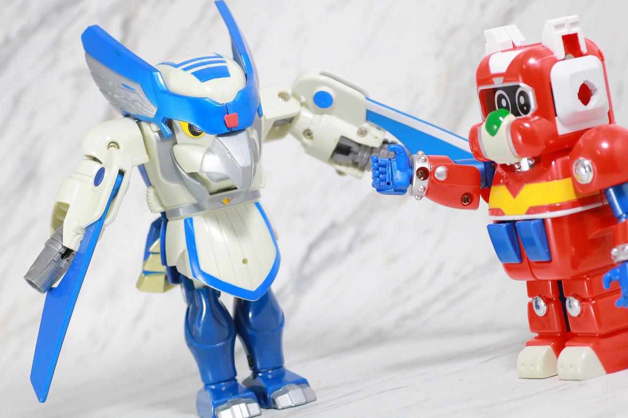 ジシャックチェンジシリーズ タッカード レビュー アクション ノーマルモード ロボタック