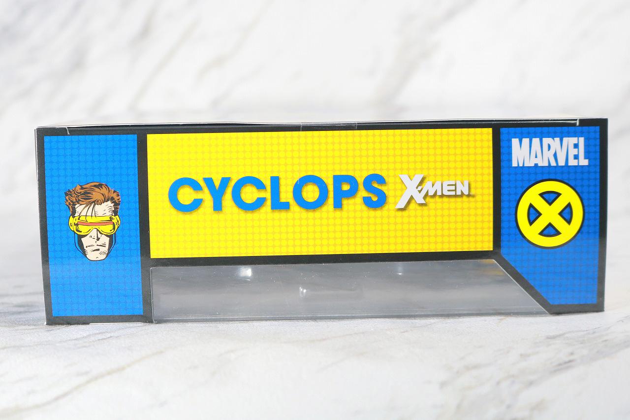 MAFEX サイクロップス サイクロプス レビュー パッケージ