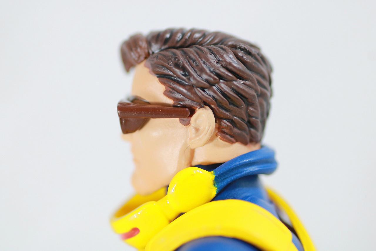 MAFEX サイクロップス サイクロプス レビュー 付属品 素顔頭部 サングラス