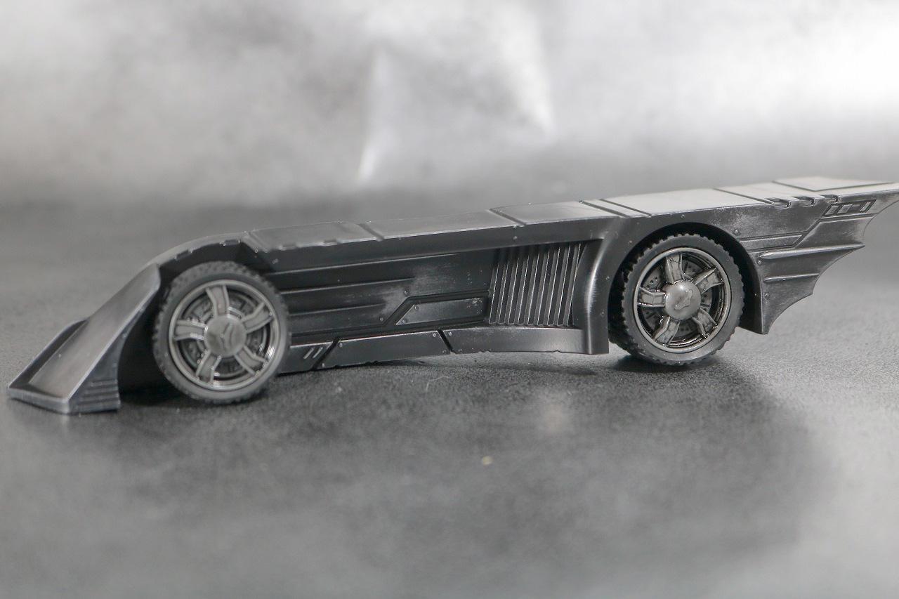 DCマルチバース バットマン フー・ラフス レビュー 付属品 バットモービル