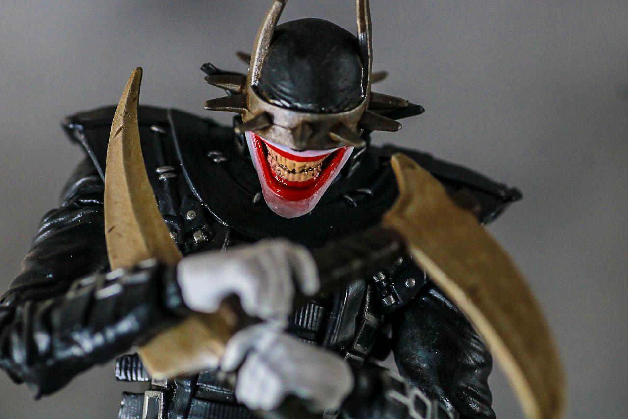 DCマルチバース バットマン フー・ラフス レビュー アクション
