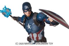 MAFEX新作!エンドゲーム版キャプテンアメリカが2021年6月発売!ムジョルニアや半壊盾も付属!