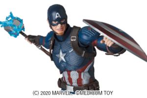 MAFEX新作!エンドゲーム版キャプテンアメリカが2021年3月発売!ムジョルニアや半壊盾も付属!