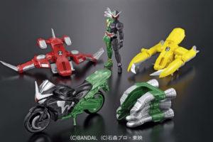 双動新作!仮面ライダーW リミテッドカラー&ハードボイルダー換装ユニットセットが限定発売!