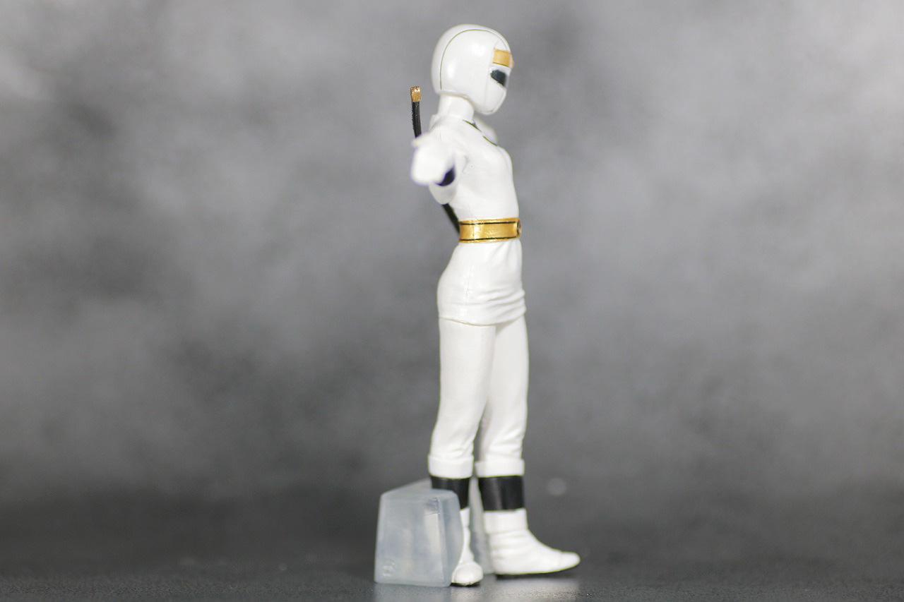 HG 忍者戦隊カクレンジャー レビュー ニンジャホワイト 全身