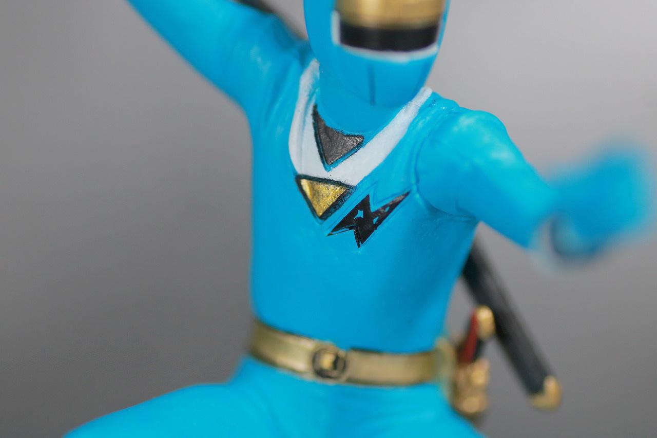 HG 忍者戦隊カクレンジャー レビュー ニンジャブルー 全身