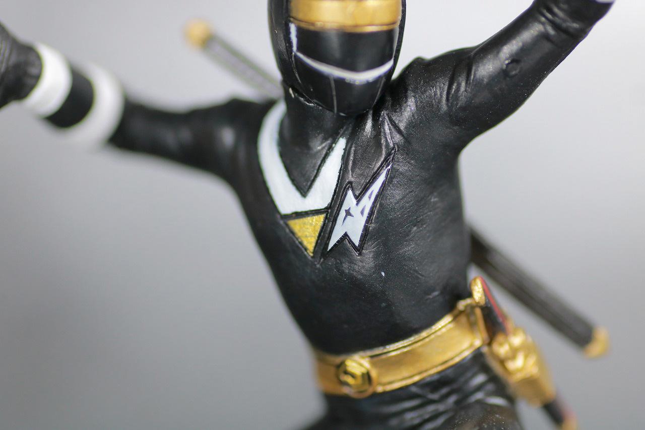 HG 忍者戦隊カクレンジャー レビュー ニンジャブラック 全身