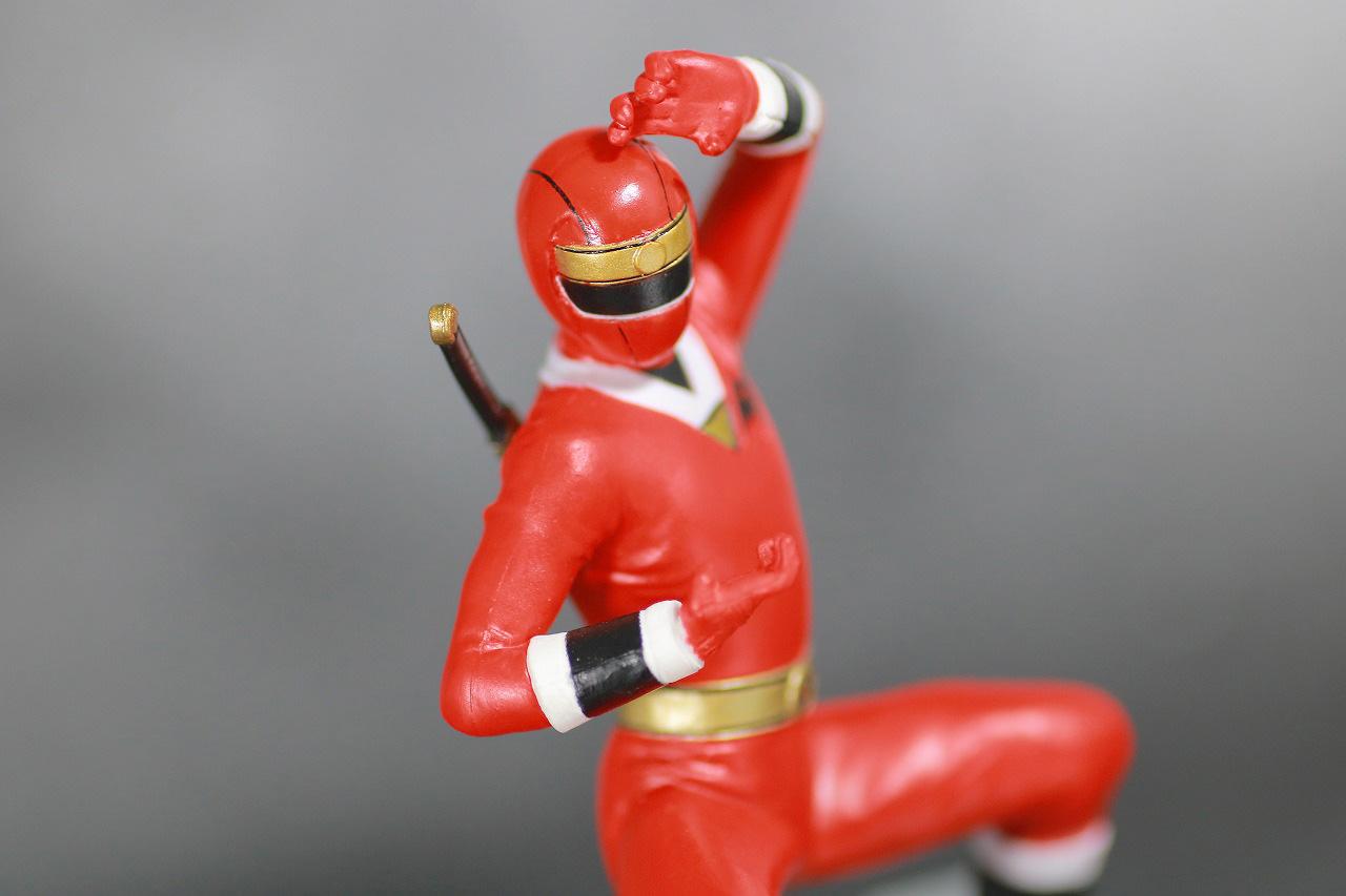 HG 忍者戦隊カクレンジャー レビュー アクション ニンジャレッド