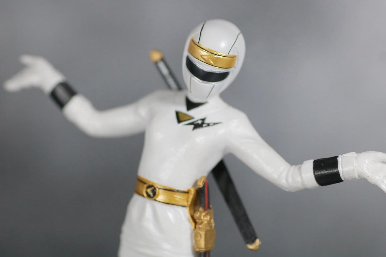 HG 忍者戦隊カクレンジャー レビュー アクション ニンジャホワイト