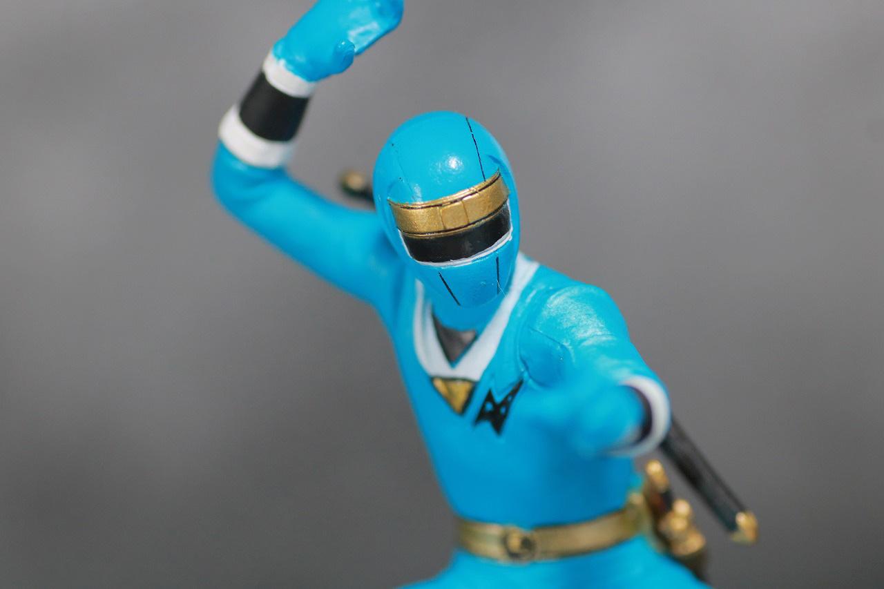 HG 忍者戦隊カクレンジャー レビュー アクション ニンジャブルー