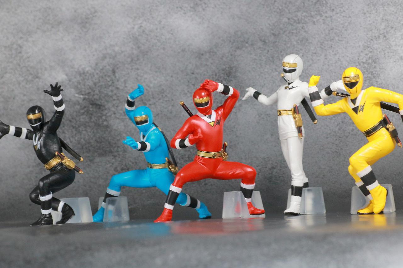 HG 忍者戦隊カクレンジャー レビュー アクション