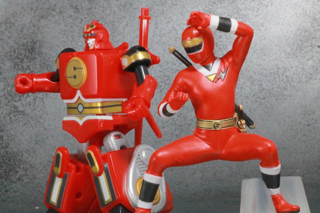 HG 忍者戦隊カクレンジャー レビュー アクション スーパーミニプラ 隠大将軍 ゴッドサルダー