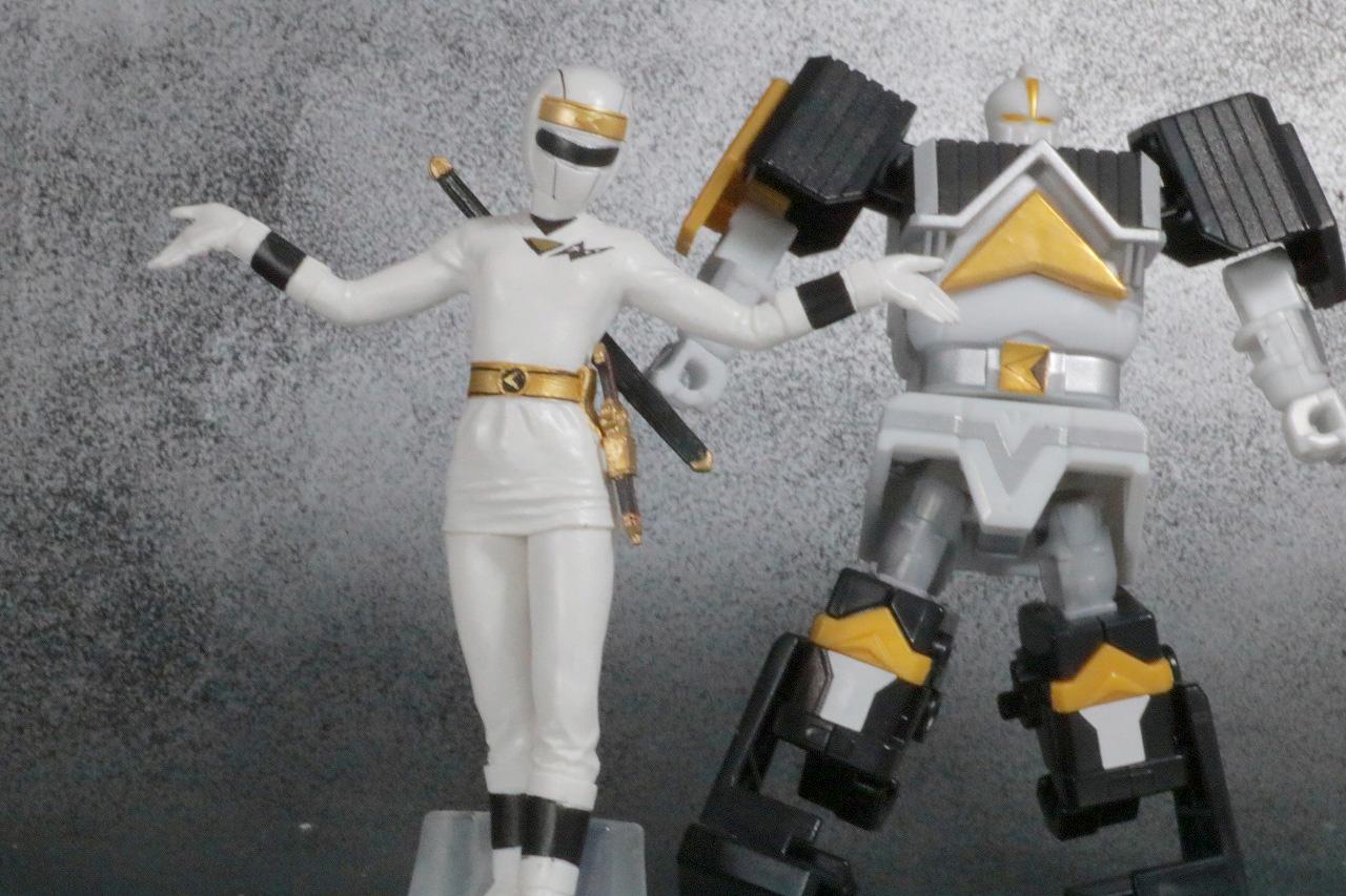 HG 忍者戦隊カクレンジャー レビュー アクション スーパーミニプラ 無敵将軍 ホワイトカーク