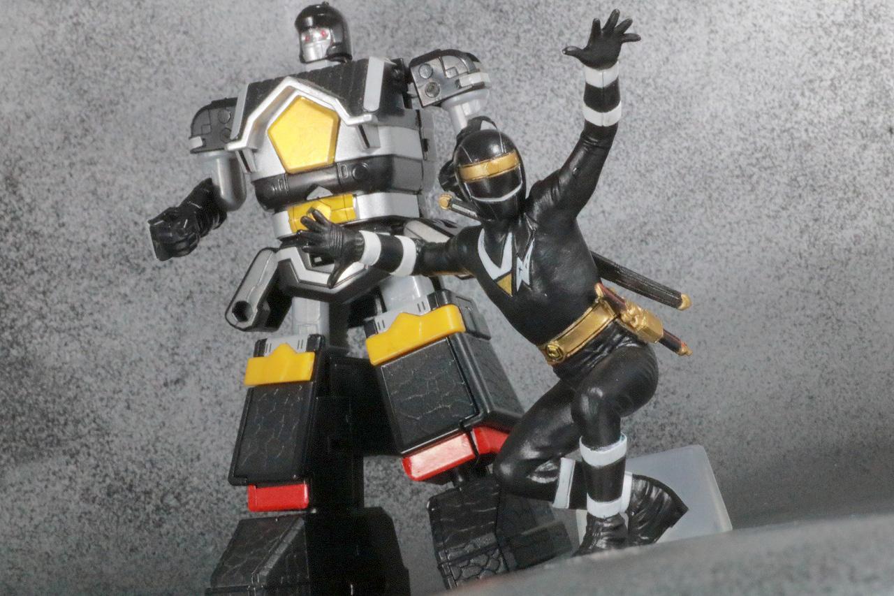 HG 忍者戦隊カクレンジャー レビュー アクション スーパーミニプラ 無敵将軍 ブラックガンマー