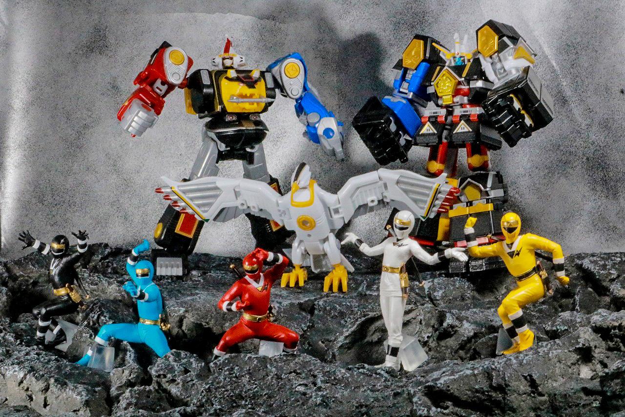 HG 忍者戦隊カクレンジャー レビュー アクション スーパーミニプラ 無敵将軍 隠大将軍 ツバサマル