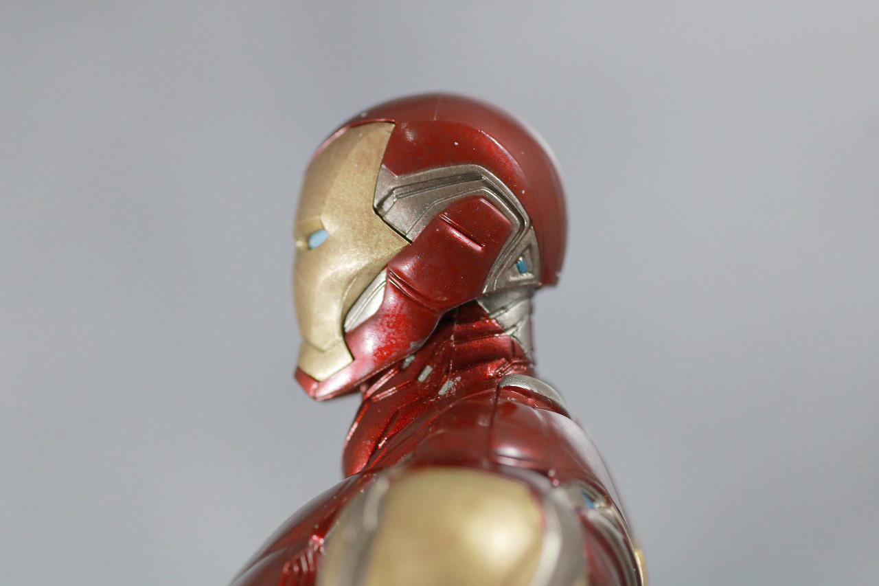 S.H.フィギュアーツ アイアンマン マーク85 FINAL BATTLE EDITION レビュー 付属品 マスク