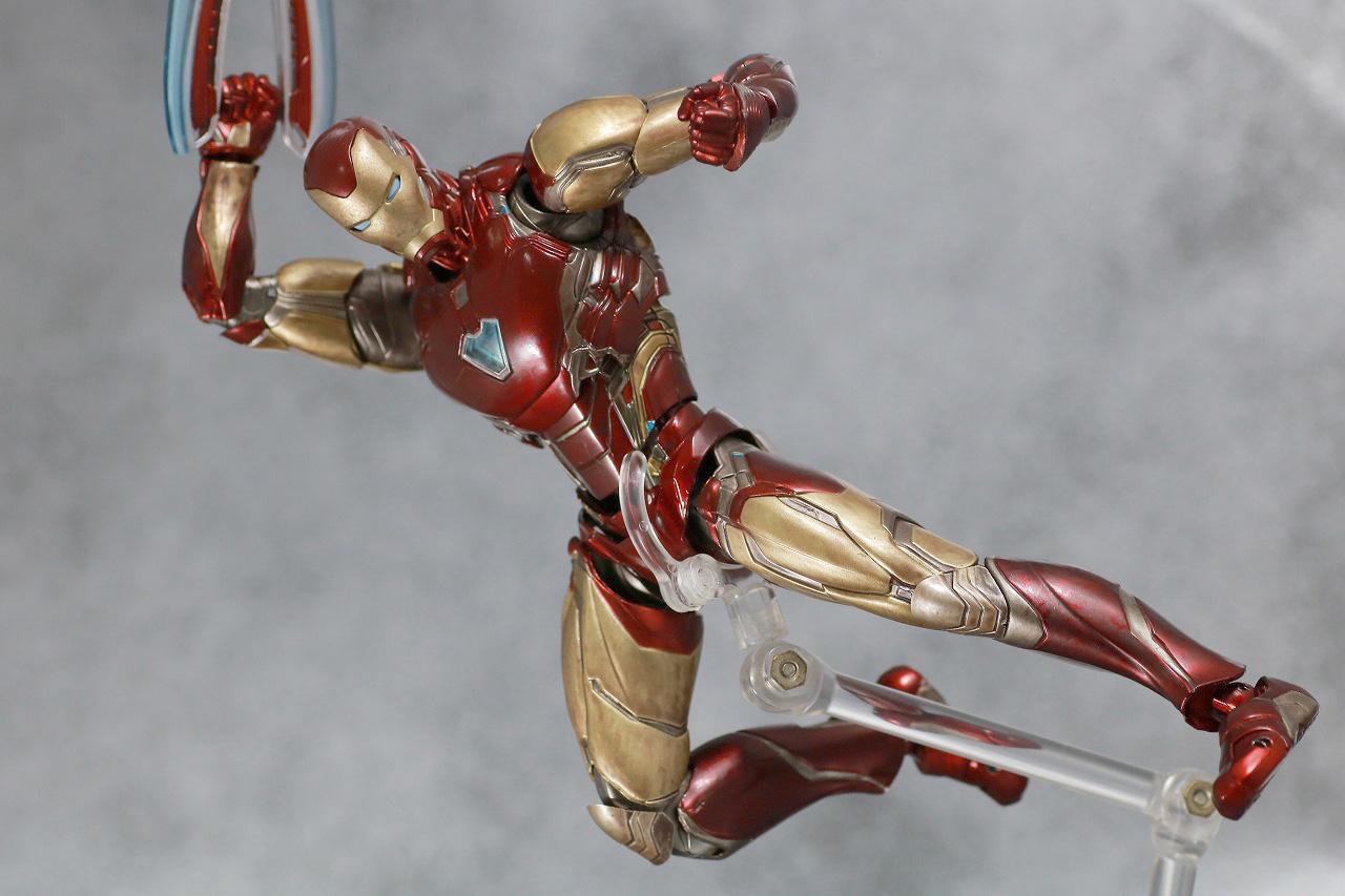 S.H.フィギュアーツ アイアンマン マーク85 FINAL BATTLE EDITION レビュー アクション