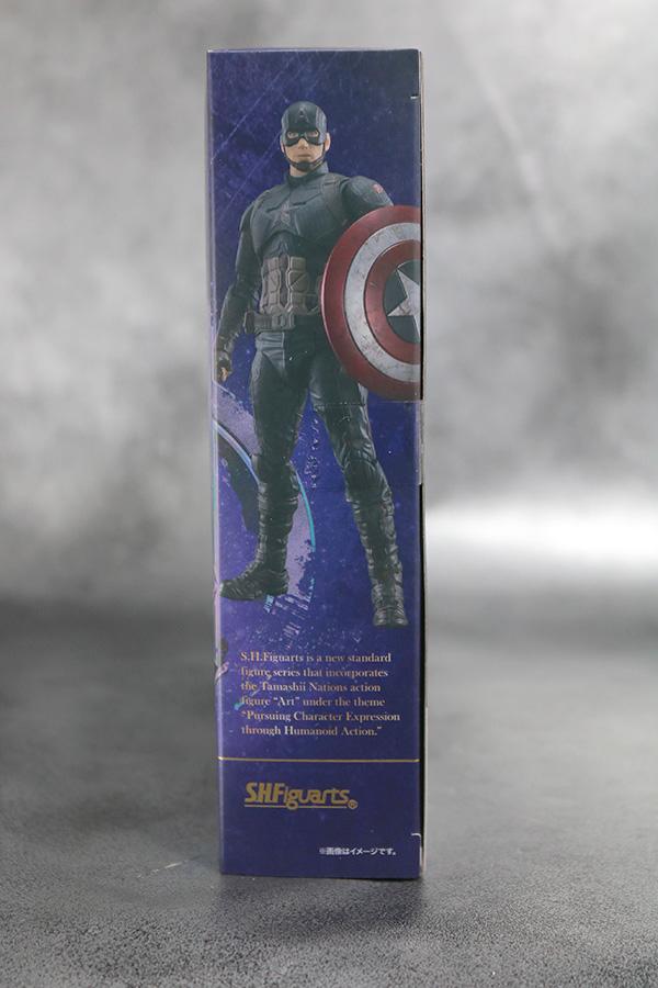 S.H.フィギュアーツ キャプテンアメリカ FINAL BATTLE EDITION アベンジャーズ/エンドゲーム レビュー パッケージ