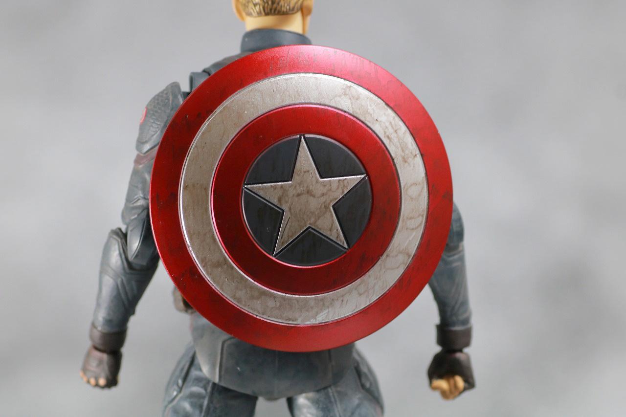 S.H.フィギュアーツ キャプテンアメリカ FINAL BATTLE EDITION アベンジャーズ/エンドゲーム レビュー 付属品 盾 シールド ベルト