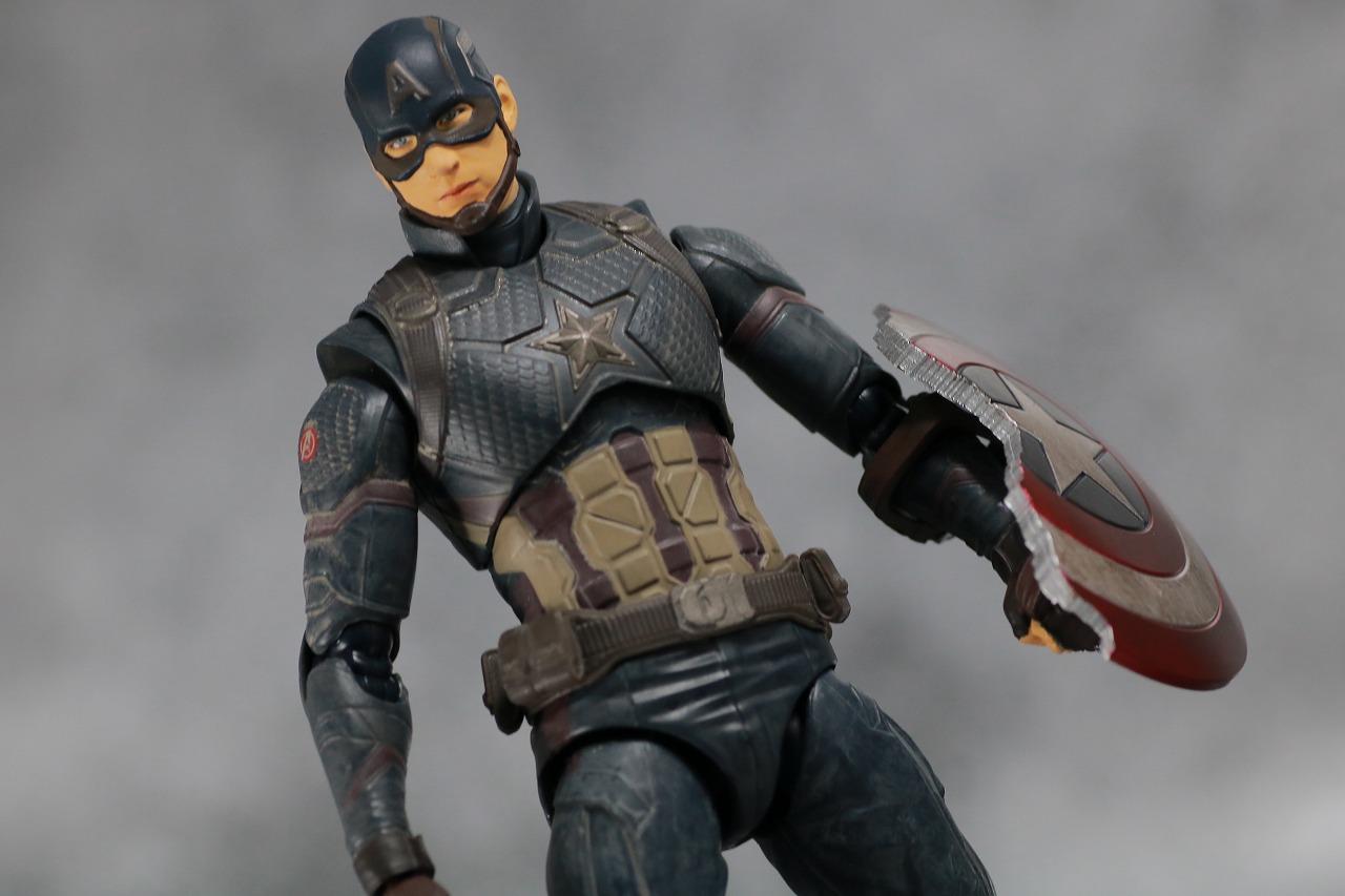 S.H.フィギュアーツ キャプテンアメリカ FINAL BATTLE EDITION アベンジャーズ/エンドゲーム レビュー アクション