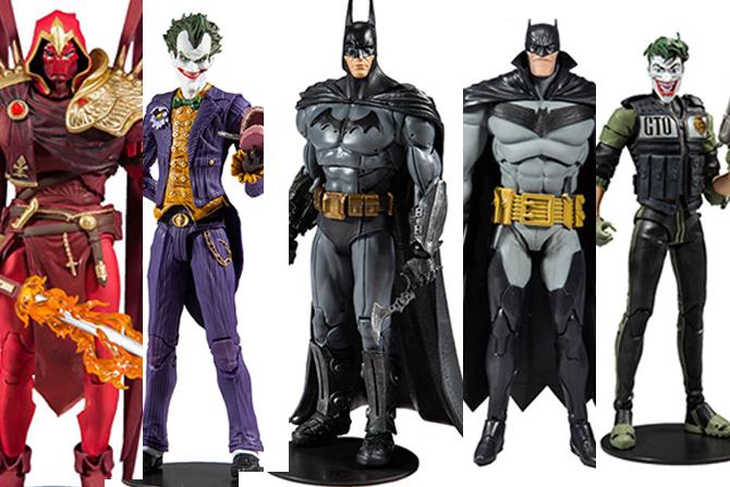 DCマルチバース新作!ゲーム版バットマン&ジョーカーやアズラエルなど5種が2020年6月発売!