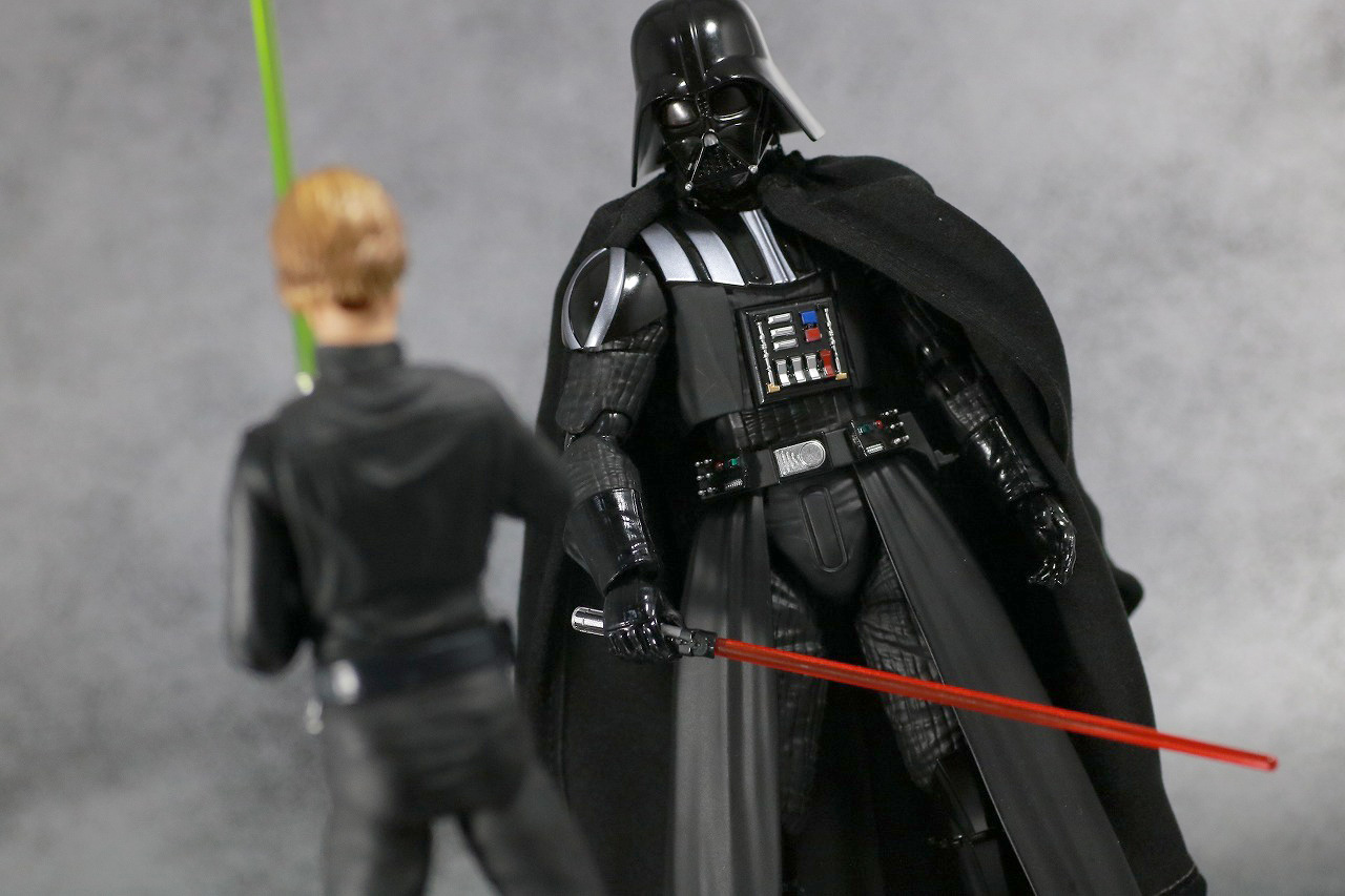 S.H.フィギュアーツ ダースベイダー(Return of Jedi) レビュー アクション ルーク・スカイウォーカー