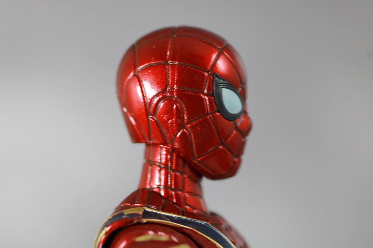 S.H.フィギュアーツ アイアンスパイダー FINAL BATTLE EDITION レビュー 付属品 マスク頭部